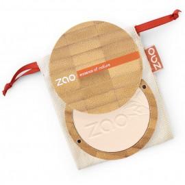Zao Refillable Bamboo Compact Powder