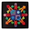Grimm's Triangle, Square, Circle Magnet Puzzle