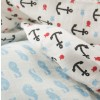 Frugi Whales and Anchors Lovely Muslins x2