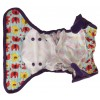 Pop-in Nappy Wrap Stripe Elephant Print
