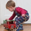 Kite Tractor Dungarees
