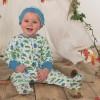 Frugi Multi Dinos Lovely Babygrow