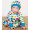 Frugi Rainbow Whales Lovely Hat