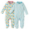 Frugi Duck and Weather Scrumptious Babygrow x2