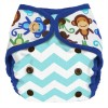 Planet Wise Monkey Fun Nappy Cover