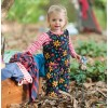 Frugi Forest Floral Willow Dungarees