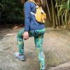 Frugi Endangered Heroes Printed Libby Leggings