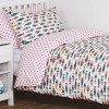 Frugi Rainbow Fish Single Bed Set
