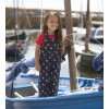 Frugi Little Alex Dungarees - Sail Away