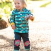 Frugi Flower Little Cord Patch Trousers