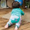 Frugi Little Knitted Hippo Leggings
