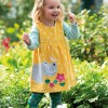 Frugi Little Norah Ditsy Floral Tights