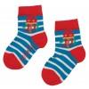 Frugi Little Socks 3-Pack - Puffin/Jellyfish