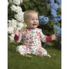 Frugi Lovely Babygrow - Cat Friends