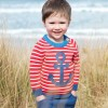 Frugi Little Finn Anchor Knitted Jumper