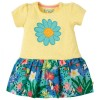 Frugi Hothouse Floral Little Laura Dress