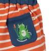 Frugi Orange Breton Stripy Shorts