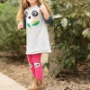 Frugi Panda Little Fun Knee Tights