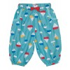 Frugi Pretty Pull Ups - Aqua Sailboats