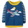 Frugi Plane Jack Knitted Jumper
