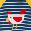 Frugi Chicken Ray Raglan Romper