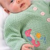 My First Frugi Seahorse Cute As A Button Cardigan
