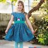 Frugi Sparkle & Shine Christmas Town Dress