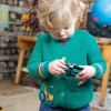 Frugi Tractor Cuddly Knitted Cardigan