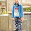 Frugi Whale Of A Time Leap About Cuffed Leggings