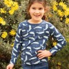 Frugi A Whale Of A Time Radley Rib Top