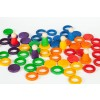 Grapat Extras Rainbow Rings 6 colours