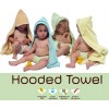 Close Parent Hooded Bamboo Towel