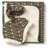 LGR Woodland Flowers Sherpa Blanket