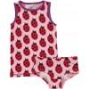 Maxomorra Ladybug Knickers & Vest Set