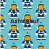 Maxomorra Astronaut Blanket