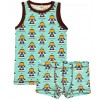 Maxomorra Astronaut Boxer Shorts and Vest Set