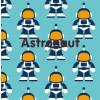 Maxomorra Astronaut Knot Blanket
