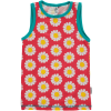 Maxomorra Coral Daisy Knickers & Vest Set