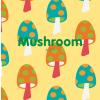 Maxomorra Mushroom Shortie Romper