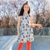Maxomorra Seashell Sleeveless Spin Dress