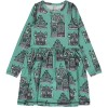 Maxomorra Townhouse LS Spin Dress