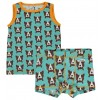 Maxomorra Dog Boxer Shorts and Vest Set