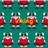 Maxomorra Shortie Viking Pyjamas