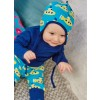 Maxomorra Submarine Baby Bonnet Hat