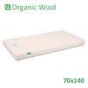 Organic Wool Standard Cot Bed Mattress 70x140