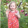 Piccalilly Bowness Print Dungarees