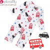 Piccalilly Bus & Taxi Playsuit