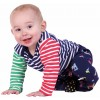 Piccalilly Primary Stripe Baby Body