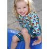 Pop-In Toddler Snug Suit Green Camper