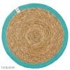 ReSpiin Jute & Seagrass Table Mat